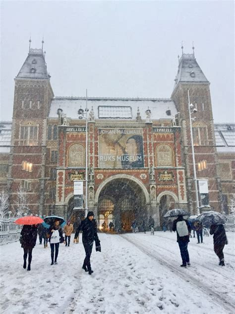 Photos Of Winter In Amsterdam