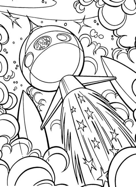 space coloring pages jzjz