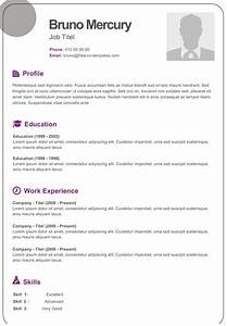 bruno dynamic resume template for free With free dynamic resume templates