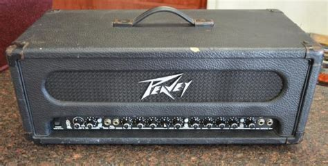 Peavey Supreme Peavey Transtube Supreme 100w Guitar Lifier