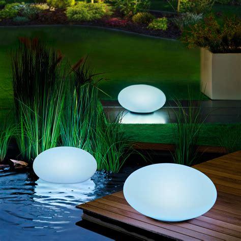Design Solarleuchten Garten by Led Solar Gartenleuchte 30 Cm Oval Kaufen