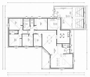 Plan Maison 6 Chambres : exemple plan maison 4 chambres ~ Voncanada.com Idées de Décoration