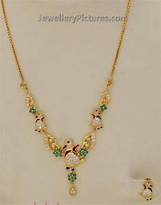 Gold Necklace Designs for Baby Girl - Jewellery Designs