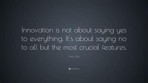steve jobs quote innovation