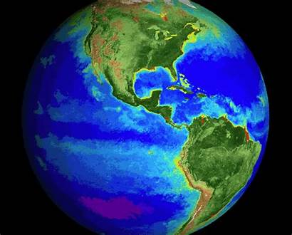 Globe Nasa Giphy Earth Biosphere Spinning Spin