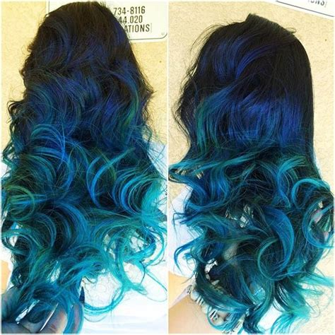 blue hair color ideas  daring women page
