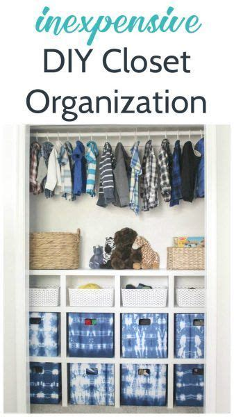 Inexpensive Closet Organization Ideas by 181577 Best Images About Best Diy Ideas On