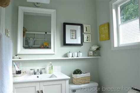 small bathroom makeover reveal harbour breeze home