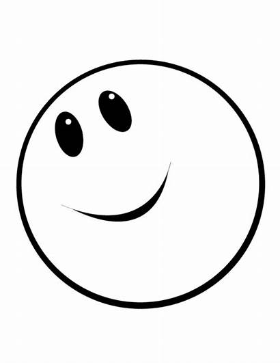 Smiley Face Coloring Happy Faces Pages Printable