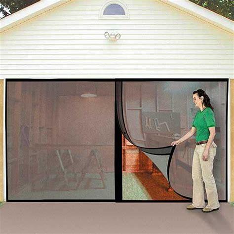 magic mesh garage door screen garage screen doors webnuggetz