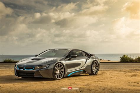 Bmw I8 On Vossen Forged Vps-309 Wheels