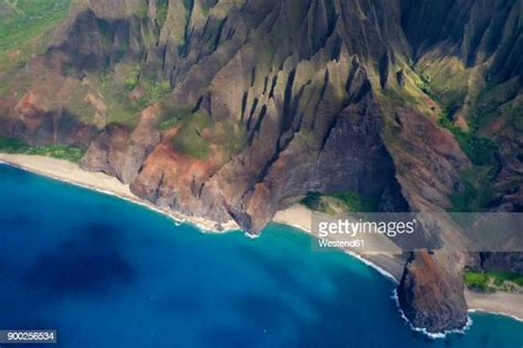 Kauai Aerial Photos And Premium High Res Pictures Getty