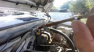 How To Check And Add Oil On A 1995 Nissan Pickup Truck