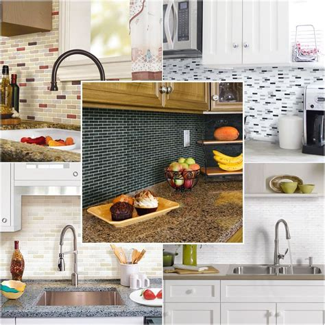 kitchen tile wallpaper home decor 3d wall stickers brick wallpaper tile for 3300