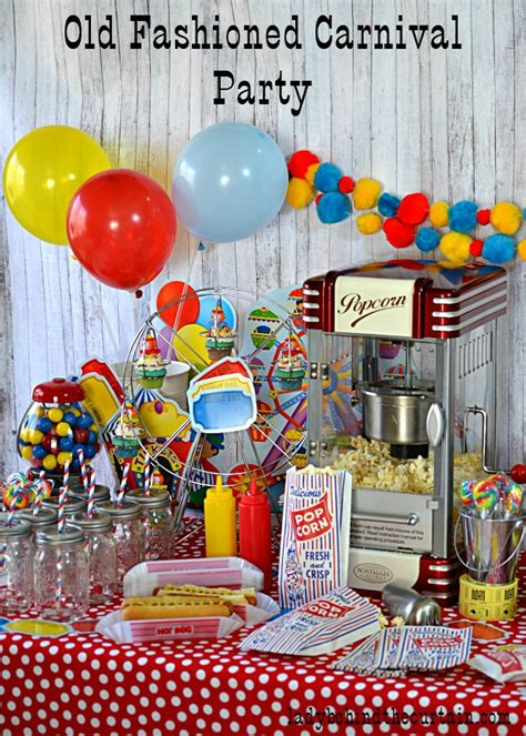 fashioned carnival party party   box giveaway