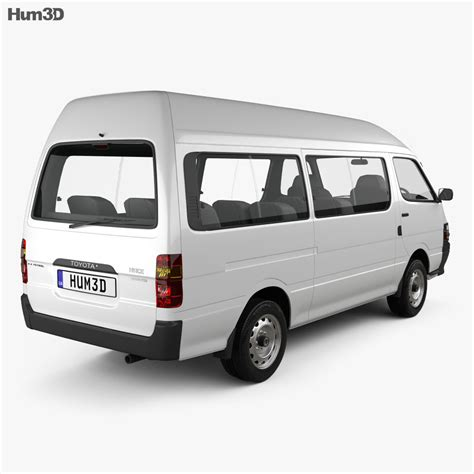The hiace comes with improved safety, technology, & comfort. Toyota HiAce Commuter 1992 3D model - Vehicles on Hum3D