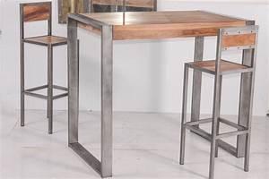 Table Haute Design : table haute moderne propre caractere accueil design et mobilier ~ Teatrodelosmanantiales.com Idées de Décoration