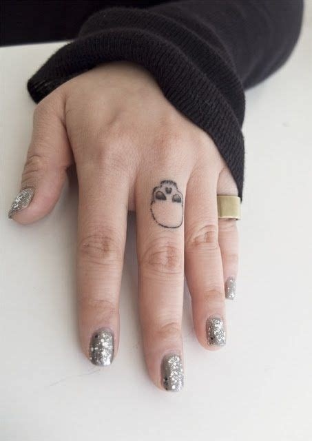 Middle Finger Tattoo Designs