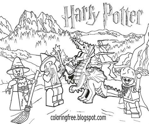 disegni da colorare harry potter lego disegni harry potter da colorare migliori pagine da colorare