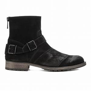 Belstaff Men's Trialmaster Leather Short Boots - Black ...