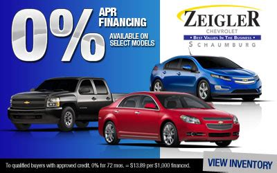 Zeigler Chevrolet Schaumburg North West Suburbs Of Chicago