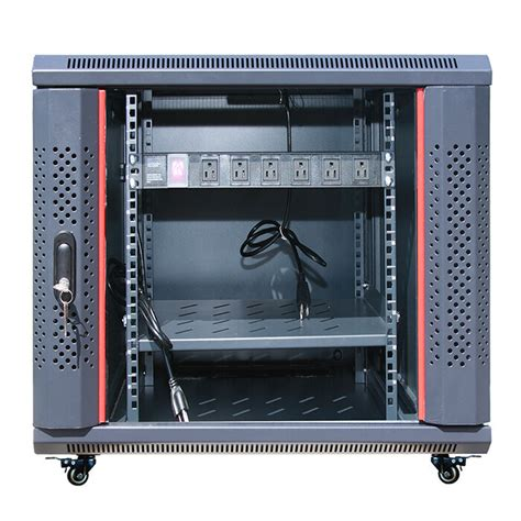 deep server  network enclosure rack cabinet fits  server equipment ebay