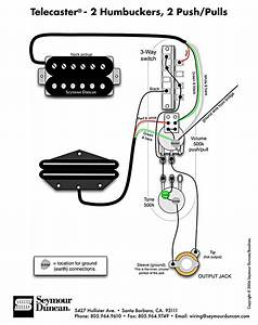 Seymour Duncan Humbucker Wiring Diagrams
