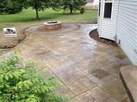 perfect patio design ideas concrete Excellent Stamped Concrete Patio Design Ideas - Patio ...