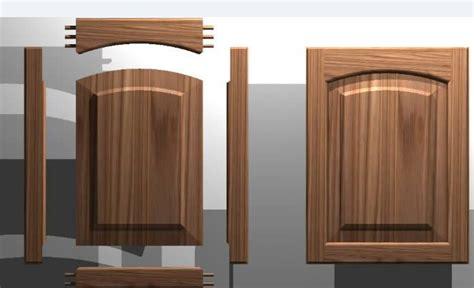 kitchen cabinet door solid wood panel  dwg autocad