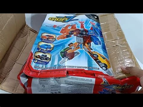 unboxing mainan tobot giga seven toys cars transformers youtube