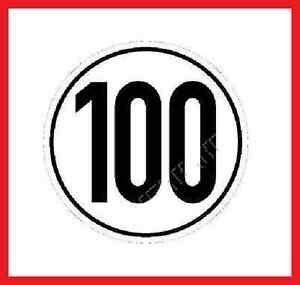 anhänger 100 km h pkw anh 228 nger 100 km h aufkleber zulassung ebay