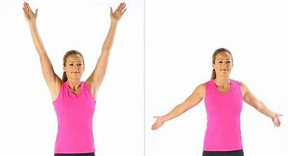 Arm Without Weights Fat Circles Rid Weight
