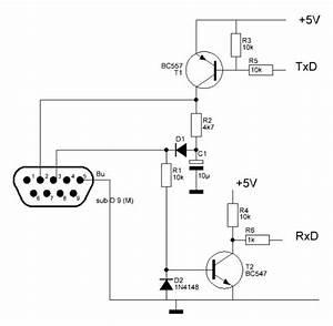 Converter Rs232 To Arduino Circuit Diagram