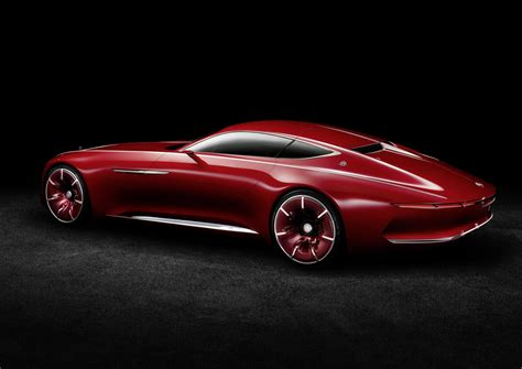 mercedes concept car vision mercedes maybach 6 electric vehicle concept is out