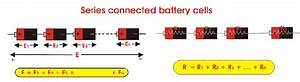 Series Parallel Battery Cells