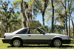 1985 Ford Mustang GT White