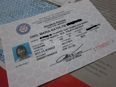 Three Types Of Driver's License In The Philippines