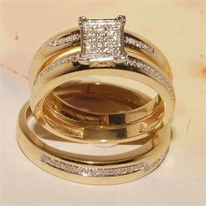 Cheap Wedding Ring Sets For His And Her Stunning Online