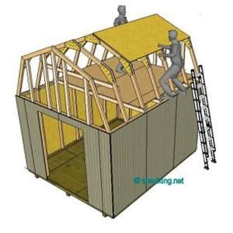 Gambrel Shed Plans 12x12 by 12x12 Gambrel Roof Shed Plans Barn Shed Plans Small Barn