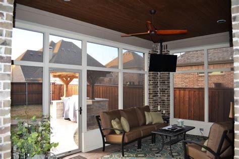 screened  porch   colony texas custom patios