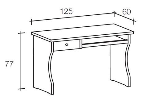 misure scrivania scrivania in legno con piano estraibile
