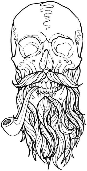 Skull Coloring Book for Adults: Detailed Designs for