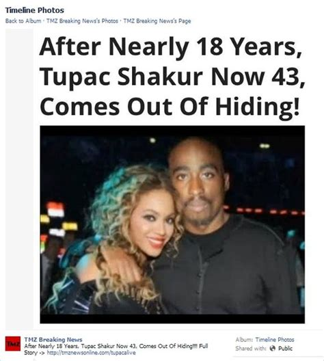 Tupac Comes Out Of Hiding Hoax