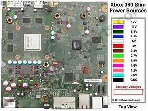 Diagrama Eletrico Com Standby Do Xbox 360 Slim Placa Corona