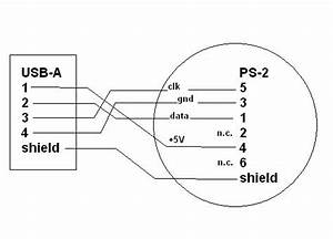 ps2 mouse to usb wiring diagram wiring diagram and With wiring diagram usb ps2
