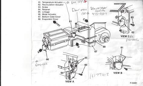 95 Chevy Silverado Heater Wiring by Digital Ac Heater Panel Blazer Forum