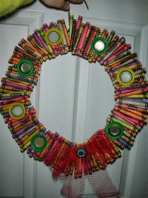 recycle recycled christmas wreath