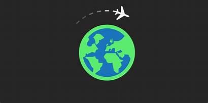 Travel Animated Gifs Animation Traveling Honeymoon Tour