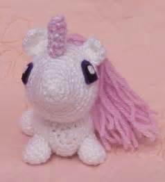 Crochet Stuffed Animals Unicorn