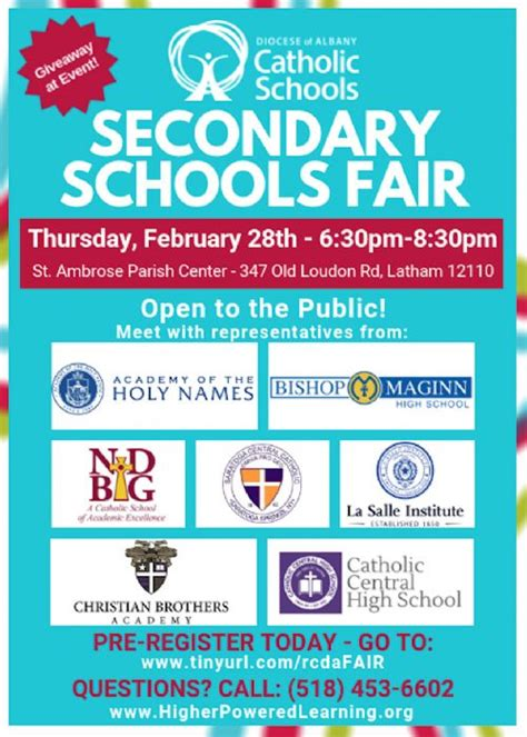 secondary school fair notre dame bishop gibbons